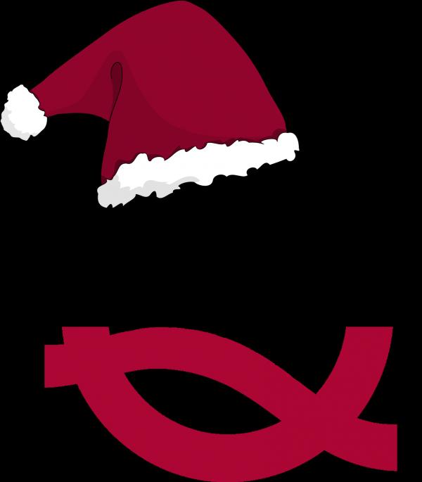 ARQUE-Q mit Weihnachtsmütze